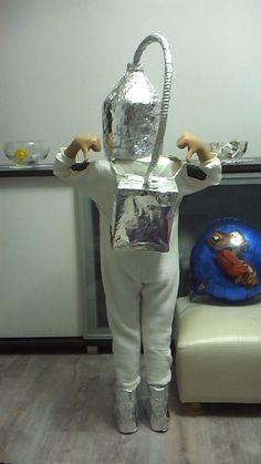 astronot kıyafeti el yapımı