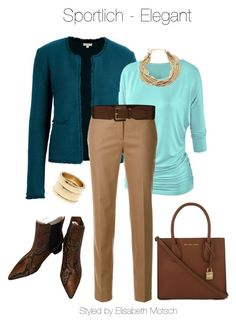 """""""Sportlich - Elegant"""" by motsch on Polyvore featuring Mode, WithChic, FABIANA FILIPPI, Lauren Ralph Lauren, MICHAEL Michael Kors, Kenneth Jay Lane und SOKO Jay, Ralph Lauren, Michael Kors, Shoe Bag, Polyvore, Stuff To Buy, Shopping, Collection, Shoes"""