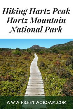 Hartz Peak is situated in the Hartz Mountain National Park in Southern Tasmania, Australia. With stunning scenery from the top it is worth the 4 hours return.
