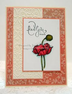 Stampin' Up! Simply Sketched and Well Scripted handmade card