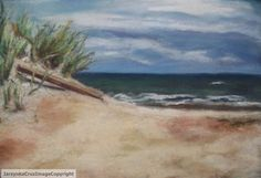 Original Art Pastel drawing Pawley's Island by DrawnUpon on Etsy, $500.00