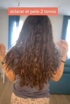 Curly Hair Styles, Natural Hair Styles, Facial Tips, Hair Upstyles, Beauty Tips For Glowing Skin, Aesthetic Hair, Tips Belleza, Hair Videos, Hair Highlights