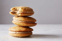 Salty Butterscotch Whoopie Pies recipe on Food52