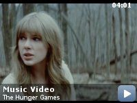 Two of my favorites: Hunger Games && Taylor Swift. ♥