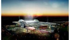 Sports City   Capacidad: 47.500  Ubicación: Doha  Nota: Estará inspirado en las tiendas árabes tradicionales. Su techo se podrá mover.