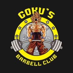 Check out this awesome 'Goku%27s+Barbell+Club' design on @TeePublic!