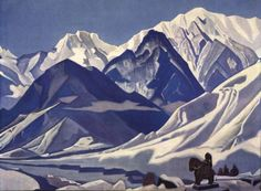 Kuluta  (in Himachal Pradesh) - Nicholas Roerich