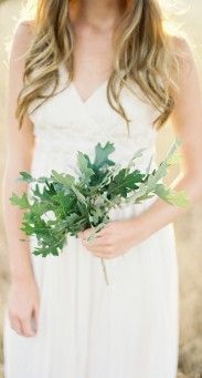 oak leaf bouquet ;)