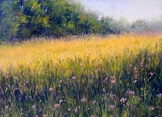 "On the Ridge by Kathy McDonnell Pastel ~ 9"" x 12"""