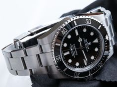 Rolex Watches Collection For Men : Rolex Submariner 114060 - Watches Topia - Watches: Best Lists, Trends & the Latest Styles Best Watches For Men, Rolex Watches For Men, Casual Watches, Cool Watches, Men's Watches, Rolex Dive Watch, Casio Watch, Mens Rolex Submariner, Rolex Datejust