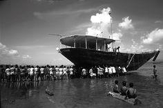Boat Pulling at Vasai