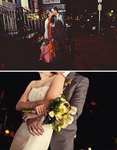 Real Wedding: Ginger + Adam's Modern Chic Boston Wedding