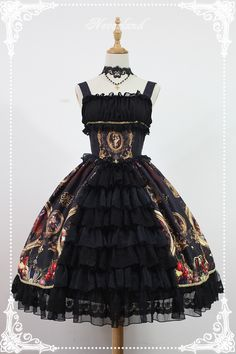 Neverland Lolita -Night at the Magic Museum- Open Front Lolita JSK
