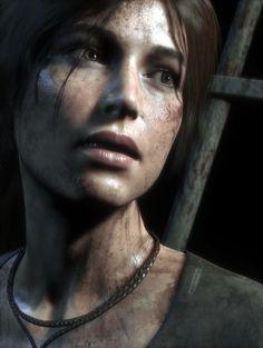 Lara Croft from rise of the tomb raider