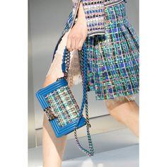 Chanel. #handbag #details #fashion #Vogue #VogueRussia #readytowear #rtw #springsummer2017 #Chanel #VogueCollections