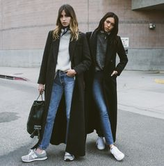 long coats and denim km