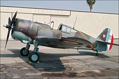 Curtiss H75-C1 (P-36 Hawk)   Flickr - Photo Sharing!