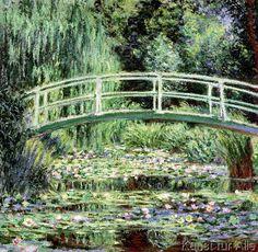 Claude Monet - White Waterlilies, 1899