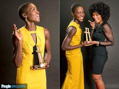 Lupita Nyong'o & Angela Bassett @ New Hollywood Awards ceremony