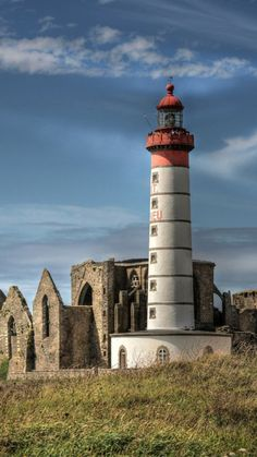Pointe Saint-Mathieu, commune of Plougonvelin in France