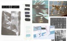 Fashion Portfolio - shirt project, colours & fabrics - fashion design development process; fashion sketchbook // Bianca de Csernatony
