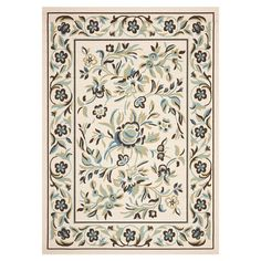 I pinned this Bellina Indoor/Outdoor Rug in Cream from the From Deck to Dining Room event at Joss and Main!