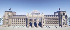 Reichstagsgebäude - German Parliament Berlin Minecraft Project
