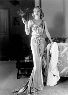 Constance Bennett - epitome of 30s chic