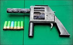 Home made shotgun revolver Survival Weapons, Survival Prepping, Survival Gear, Tactical Survival, Homemade Shotgun, Homemade Weapons, Crossbow Hunting, Guns And Ammo, Technology Gadgets
