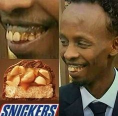 hungry? grab a snickers