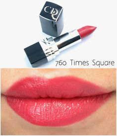 Dior Rouge Dior Lipsticks for Spring 2015: Review and Swatches | The Happy Sloths: Beauty & Makeup Review Blog, Swatches, Beauty Product Reviews Dior Lipstick, Coral Lipstick, Lipstick For Fair Skin, Lipsticks, Lipstick Tricks, Lipstick Shades, Matte Lipstick, Lipstick Colors, Love My Makeup
