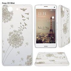Asnlove TPU Doux Étui pour Sony Xperia Z3 Compact(Z3 Mini) Coque Housse Case Mince Etui Couleur Peinture Cover(Blanc Pissenlit) Asnlove http://www.amazon.fr/dp/B016W4V1MS/ref=cm_sw_r_pi_dp_TG5uwb0J4KRR7