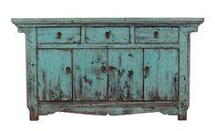 Sideboard Blue Shining , Sarreid Ltd