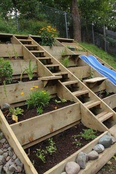 NapadyNavody.sk   20 spôsobov, ako kreatívne využiť palety vo vašej záhrade