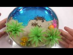 Learn Colours for Children Play Slime Kinetic Sand Crab Beach Learn Numbers Counting ToY - http://ift.tt/1mZZxO9