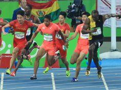 <五輪陸上>男子400リレー 磨いたバトン技術で銀獲得 #陸上 #リオ五輪