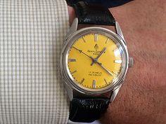 Vintage 1970s Henri Sandoz & Fils Swiss Made watch in excellent condition