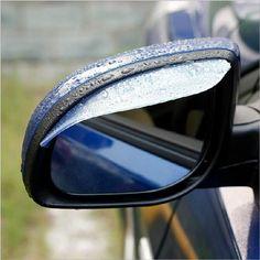 2 Piece flexible rear view mirror eyebrow cover-rainproof 881591c222e