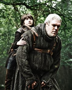Hodor makes a good sidekick as he is loyal to Brann and only does what he knows, which is to provide assistance to Brann and keep him from harm. As long as he isn't too scared by the events befalling him. Brann also uses Hodors incredible strength as a weapon by utilising his warg