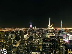 Scatti e Bagagli: 7 giorni a New York, la città che non dorme mai! Manhattan by night, on top of Rockfeller Center