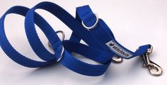 Hund: Leinen - Sonstige - Sportline von stitchbully - Hunde Leine uni blau - ein…
