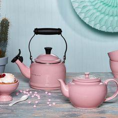 Le Creuset Wasserkessel Demi Chiffon Pink Bleywaren
