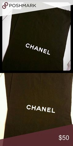 Chanel Large Dust Bags - New Authentic -Have 2 available- Price is for one- Boots, Shoes, Bags, etc- 20.5x11.5 CHANEL Bags