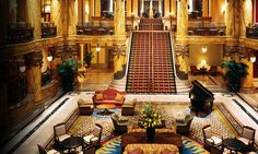 "The Jefferson Hotel, Richmond, VA -- the ""Gone With the Wind"" Staircase"