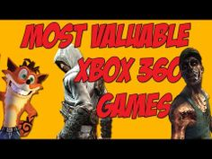 The most valuable games for the Xbox 360!