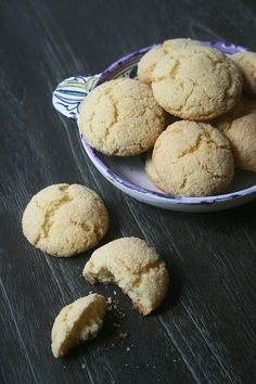 Biscuits harcha au four 1