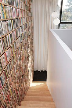 bibliotheque escalier