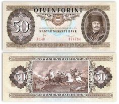 Hungary 50 Forint 4.11.1986 (Prince Rakoczi, battle) Note Image, Hungary History, The Frankenstein, Old Money, Old Coins, Coin Collecting, Budapest, Old Photos, Childhood Memories