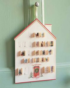 Greeting-Card Advent Calendar
