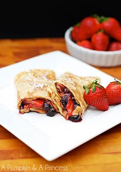 DELICIOUS SWEET CREPES KIDS WILL GO CRAZY OVER #DIY #tips #ideas